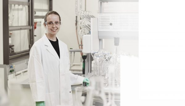 实验室员工 RHI Magnesita 莱奥本研发技术中心, 行业中的女性, 研发领域的女性